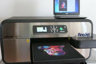AnaJet MP5i mPower Apparel Printer DTG & Speedtreater Combo