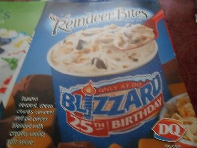 Dairy Queen Poster 22'' X 28'' Lot Of 4 Posters Styles Vary