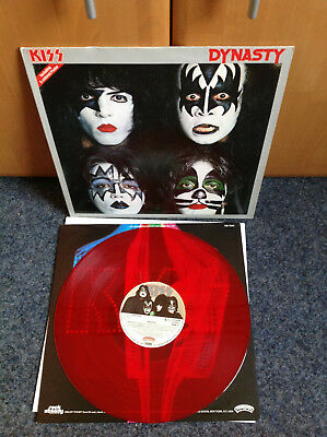 Kiss - Dynasty Casablanca-Records 1979 Red Vinyl Rarität OIS