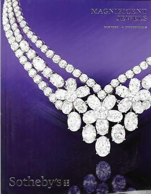 Sotheby's Magnificent Jewels Auction Catalog December 2018