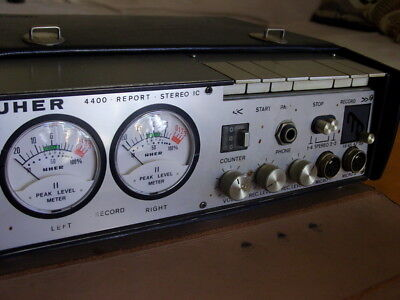 Uher  4400 Report  Stereo