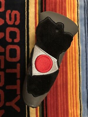 Scotty Cameron M&G Museum Gallery Member Japan rare leather Putter Headcover