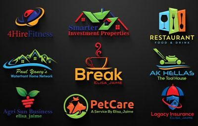 Design Professional Logo For Your Business In 24-48 Hours UNLIMITED REVISION