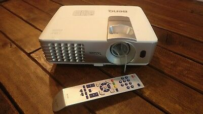 BenQ W1070 1080P Full HD 3D DLP Short-Throw Projector with 3 YEAR Warranty