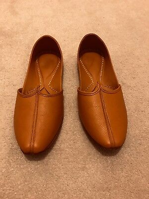 Fabindia Mens Leather Shoes Wedding Outfit WORN ONCE