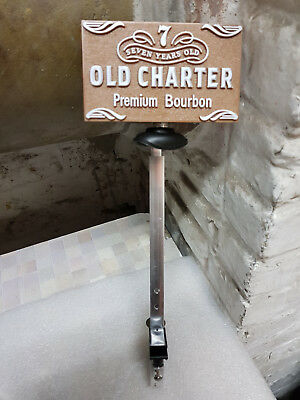 support bouteille alcool bar vintage collection NF old charter bourbon