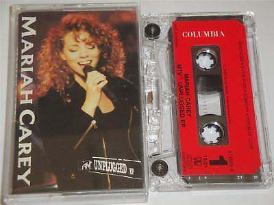 Mariah Carey - MTV Unplugged EP Cassette Tape
