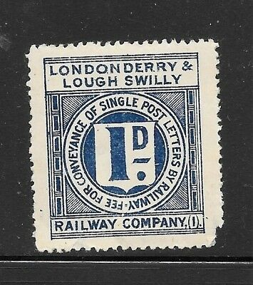 Londonderry & Louth Swilly Railway Letter Stamp