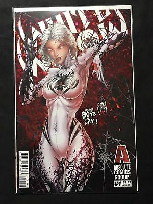 White Widow #1 - Jamie Tyndall - Foil Cover B - Sold Out!  1st Print NM/NM+