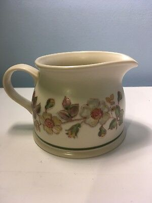 Vintage Marks & Spencer Autumn Leaves 1/2 Pint Milk Jug - Excellent condtion