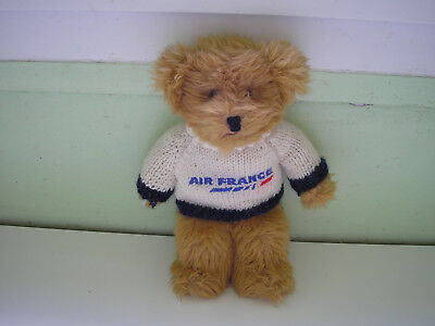Ours Publicite En Peluche Air France Citime Paris 1Er Classe