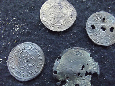 Metal detector finds Medieval/post medieval jettons