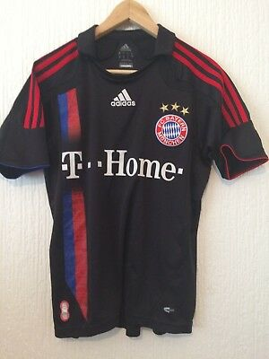 Fc Bayern Munich Away Football Shirt - Official Adidas 2007 / 2008 Season Shirt