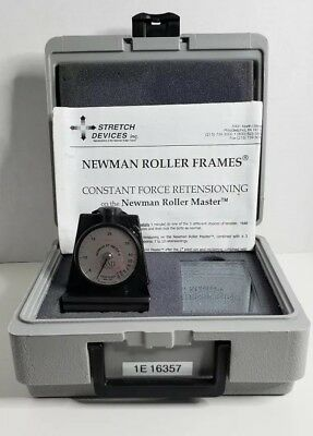 Tension St-Meter Newman Stretch Devices Inc. Mesh/Screen Printing +Original Case
