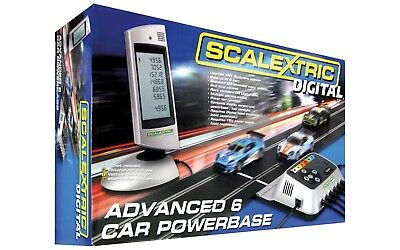 C7042 Scalextric Digital Advanced 6 Car Powerbase + Ghost-Cars (PACER) -Funktion