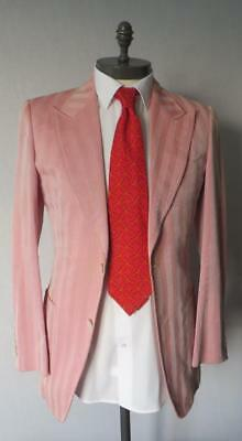 Tom Ford Pink Cotton Blend Suit