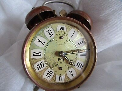 Antique French Japy Alarm Clock - Timepiece