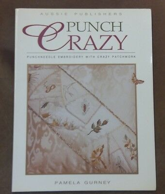Punch Crazy-Punchneedle Embroidery with Crazy Patch by Pameka Gurney