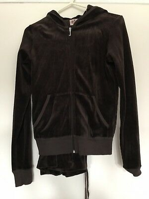 Juicy Couture Brown Tracksuit Size Small