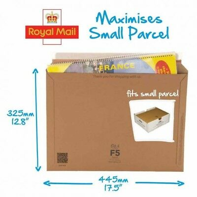Lil Packaging F5 A3 Strong Envelope Flatpack Small Parcel 450 x 350 x 160mm