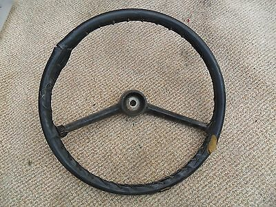 Reliant Rebel steering wheel