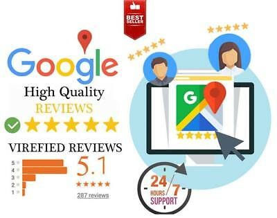 Real 11x Google Reviews For your Business Virefied 5 Star Positive SAFE Reviews