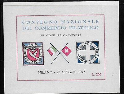 Cinderella  Italy  1947  - Poster   Stamps  Aviation    MNH-VF#  lot  256  7