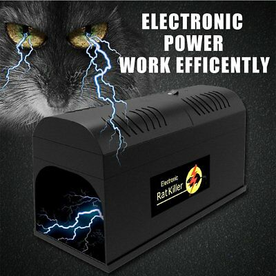 Mouse Repellent Electronic Rat Trap Mice Mouse Rodent Killer Electric Shock