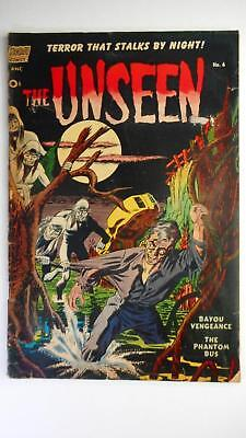 The Unseen #6 Fr/gd 1.5 (Pines 1952 Series) Precode Horror