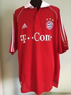 Official Adidas Bayern Munich (Germany) Home Football Shirt Size Adult Uk X-Larg