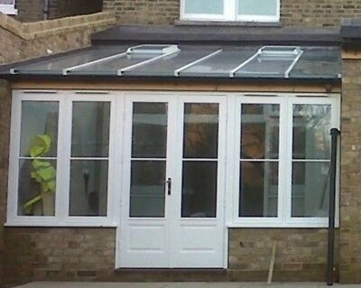 Conservatory roof glass with 2 Opening Windows Double glazed & Solar Controlled