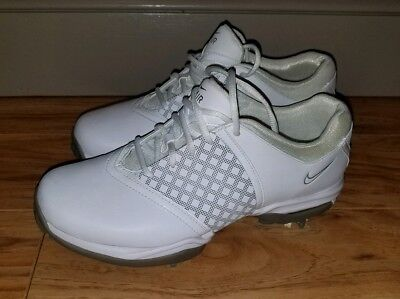 fd714e5bc53 NIKE AIR Embellish 418379-101 Womens 8 Soft Spike Golf Shoes White WORN  ONCE!