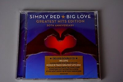 CD Album: Simply Red - Big Love - Greatest Hits 30th Anniversary Edition (New)