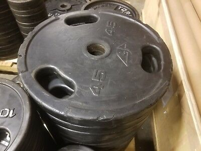 Gpi Urethane 45 Lb. Olympic Grip Weights - American Made - Over 5,000 Lbs Avail.