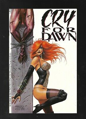 Cry for Dawn 2 second printing