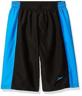 Speedo Boys Hydrovolley with Jammer 18'' Shorts, Bright Ocean, Medium (10/12)