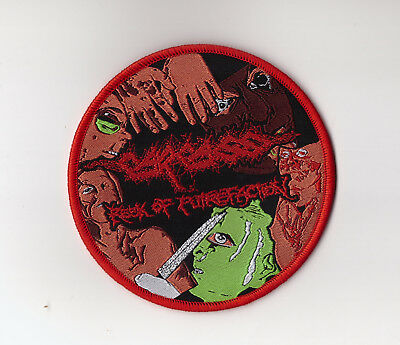"Carcass ""Reek of Putrefaction"" Patch exhumed-napalm death-repulsion-terrorizer"