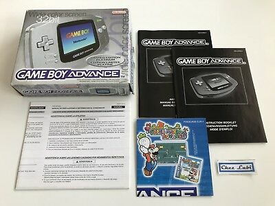 Boite + Notice - Console Nintendo Game Boy Advance GBA - Limited Edition - PAL