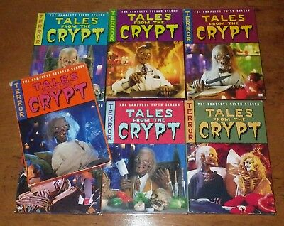 Tales From The Crypt Complete 7 Seasons 20 Dvd's