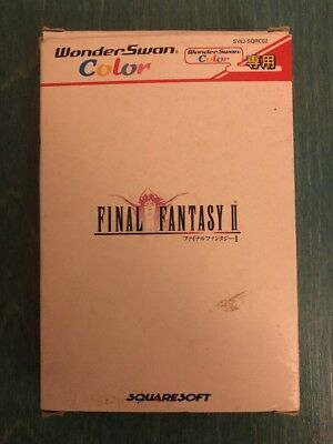 Final Fantasy II Wonderswan Complete