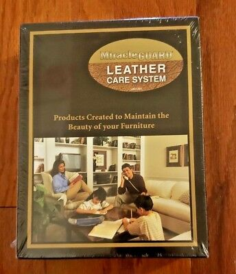 Miracle Guard Premium Leather Care System – Factory Sealed Nib!