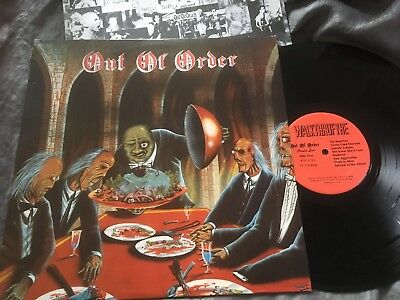 KBD LP - OUT OF ORDER Paradise Lost, 1st ED USA WTF SPEED TRASH HC PUNK MISFITS