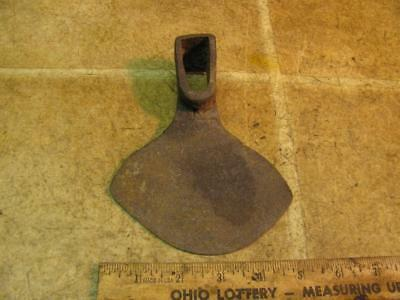 Vintage Hand Forged Hoe Head Garden Tool