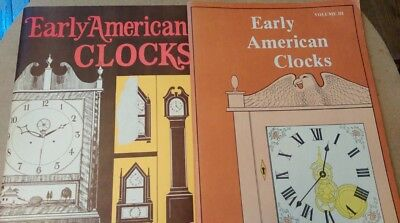 2 E. G. Warman Early American Clocks 1971 & 1975 Watchmakers Literature