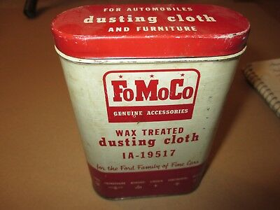 FoMoCo Can,  Oil Can, Ford Can, 1958 Ford, Mercury, Lincoln, Grease Can, Mobil