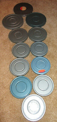 GIANT lot of 12 8mm home movies VINTAGE 1950s Miami Beach DC NYC Atlantic City +