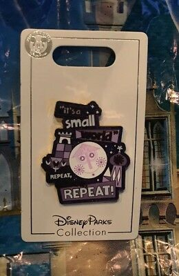 Disney It's A Small World Repeat Repeat Repeat! Pin New OE Pin Purple