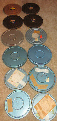 GIANT lot of 12 8mm home movies VINTAGE 50s 60s 70s Parks Travel Christmas MORE!