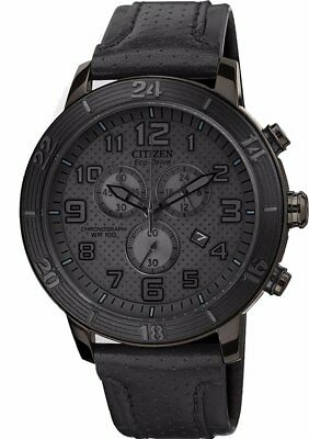 Citizen Eco-Drive AT2205-01E All Black Men's Watch