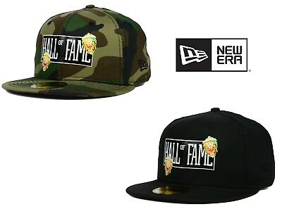075771fc6ea NEW ERA - 59FIFTY FITTED HALL OF FAME 2nd SUCKS BLACK OR CAMO FITTED HAT CAP